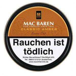 Mac Baren Classic Amber Loose Cut / 100g Dose