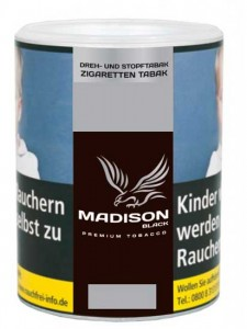 Madison Black Tabak / 120g Dose