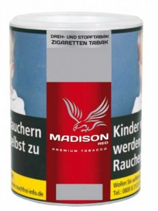Madison Red Tabak / 120g Dose