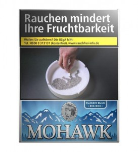 Mohawk Blue Big Box Zigaretten