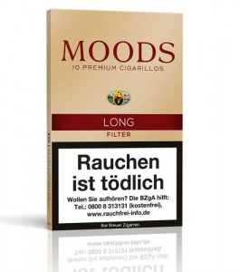 Dannemann Moods Long Filter / 10er Packung