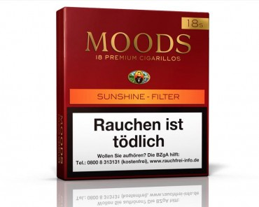Dannemann Moods Sunshine Filter / 18er Packung