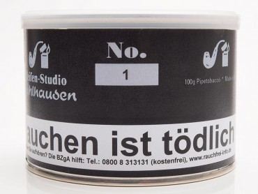 Pfeifenstudio Mühlhausen No.1 / 100g Dose
