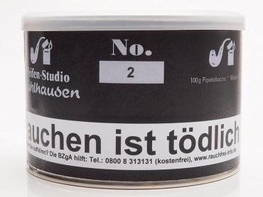Pfeifenstudio Mühlhausen No.2 / 100g Dose