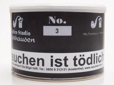 Pfeifenstudio Mühlhausen No.3 / 100g Dose