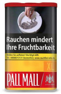 Pall Mall Allround Red XL Tabak / 75g Dose