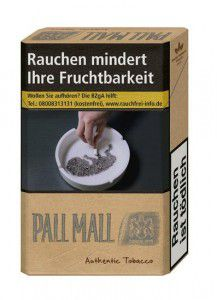 Pall Mall Authentic Silver Zigaretten