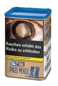 Pall Mall Authentic Blue XL Tabak / 60g Dose