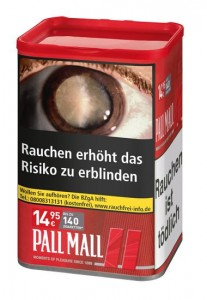 Pall Mall Red XL Tabak / 65g Dose