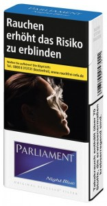 Parliament Night Blue Zigaretten
