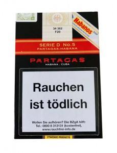 Partagas Serie D No.5 A/T - 3er Packung
