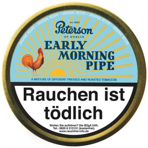 Peterson Early Morning Pipe / 50g Dose