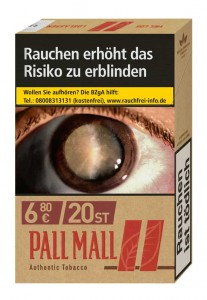 Pall Mall Authentic Red  Zigaretten