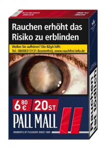 Pall Mall Red Filter Zigaretten