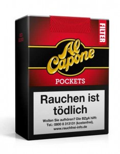Al Capone Pockets Filter Red / 18er Packung
