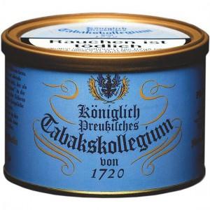 Königlich-Preußisches Tabakskollegium 1720 blau / 100g Dose