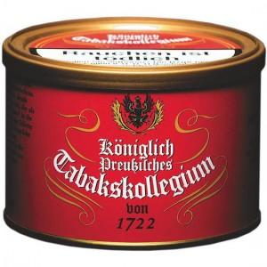 Königlich-Preußisches Tabakskollegium 1722 rot / 100g Dose