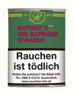 Rattrays Red Rapparee Tobacco / 100g Dose