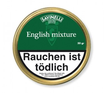 Savinelli English Mixture / 50g Dose
