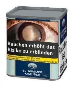 Schwarzer Krauser No. 1 / 90g Dose