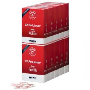 10x Vauen Pfeifenfilter Dr. Perl Aktivkohle / 100 Stück