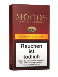 Dannemann Moods Sunshine Filter / 12er Packung