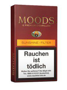 Dannemann Moods Sunshine Filter / 10er Packung