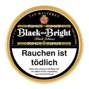 van Halteren Black and Bright / 100g Dose