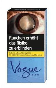 Vogue Bleue Superslims 100's Zigaretten