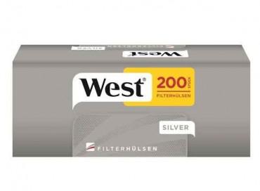 West Silver Zigarettenhülsen