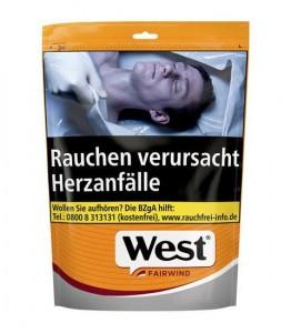 West Yellow Fairwind Volume Tobacco / 200g Beutel