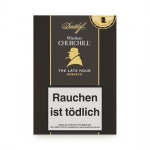 Davidoff Winston Churchill - The Late Hour Robusto Zigarren / 4er Packung