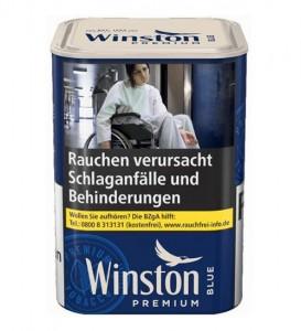 Winston Premium Tobacco Blue M / 100g Dose