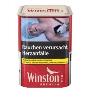 Winston Premium Tobacco Red M / 100g Dose