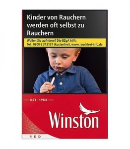 Winston Red Long Zigaretten