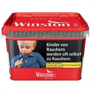 Winston Red Volume Tobacco / 185g Mega Box