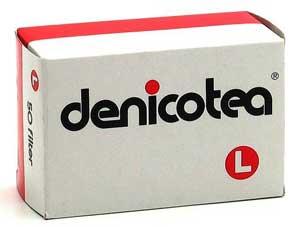Denicotea L-Filter / 50 Stück