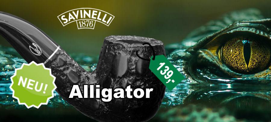 Savinelli Alligator Pfeifen