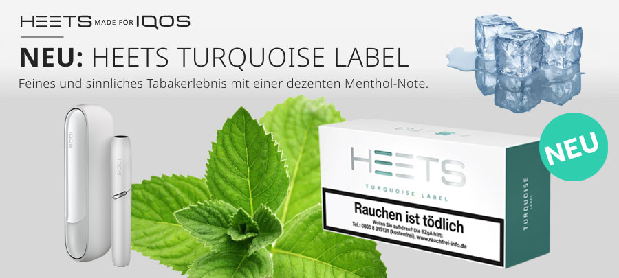 IQOS Tobacco Heets Turquoise