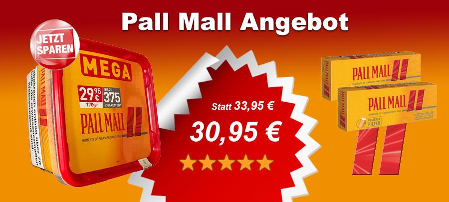 Pall Mall Allround Tabak Angebot